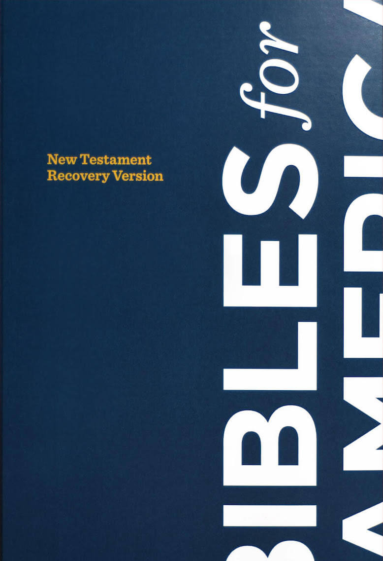 Free Bible and Free Christian Books | Bibles for America