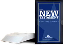Military New Testament book cover