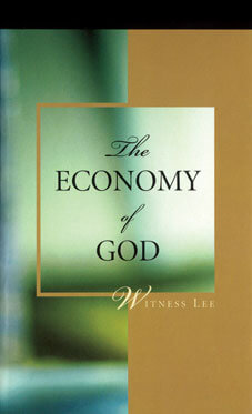 The Economy of God by Witness Lee
